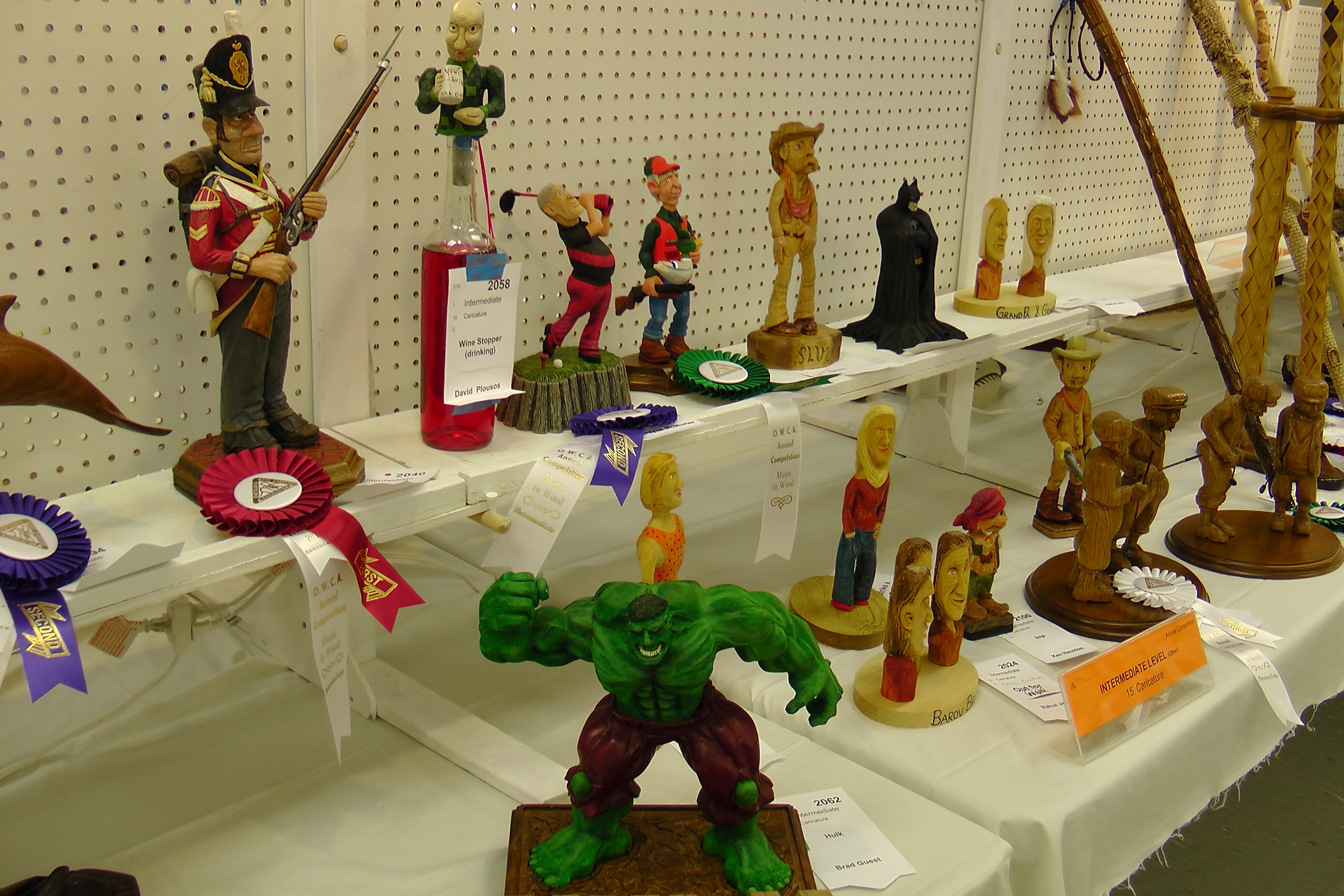 wood carving shows