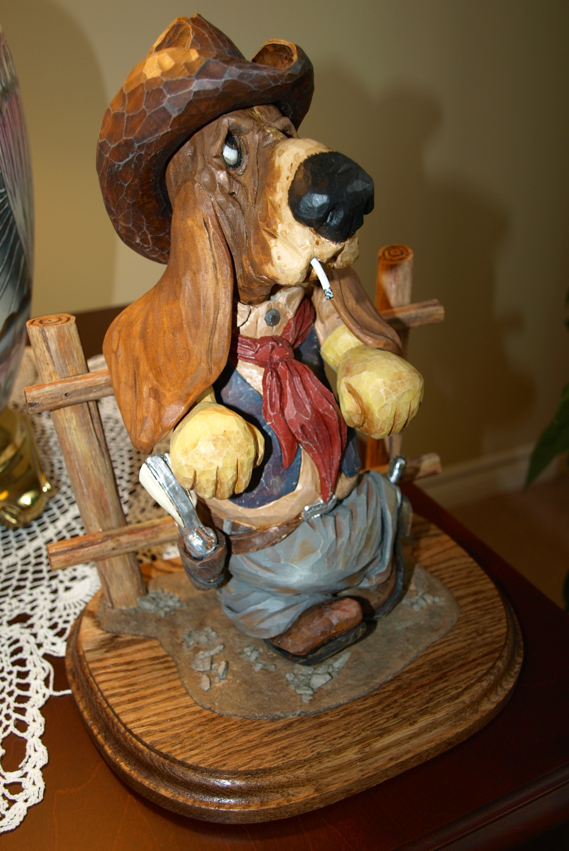 Tributesinwood carved wood caricatures by mark sheridan